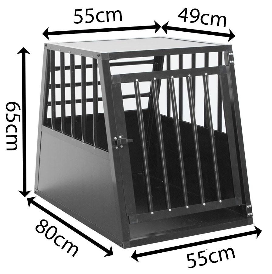 SafeCrate Large Long - 3:a Generation Hundbur