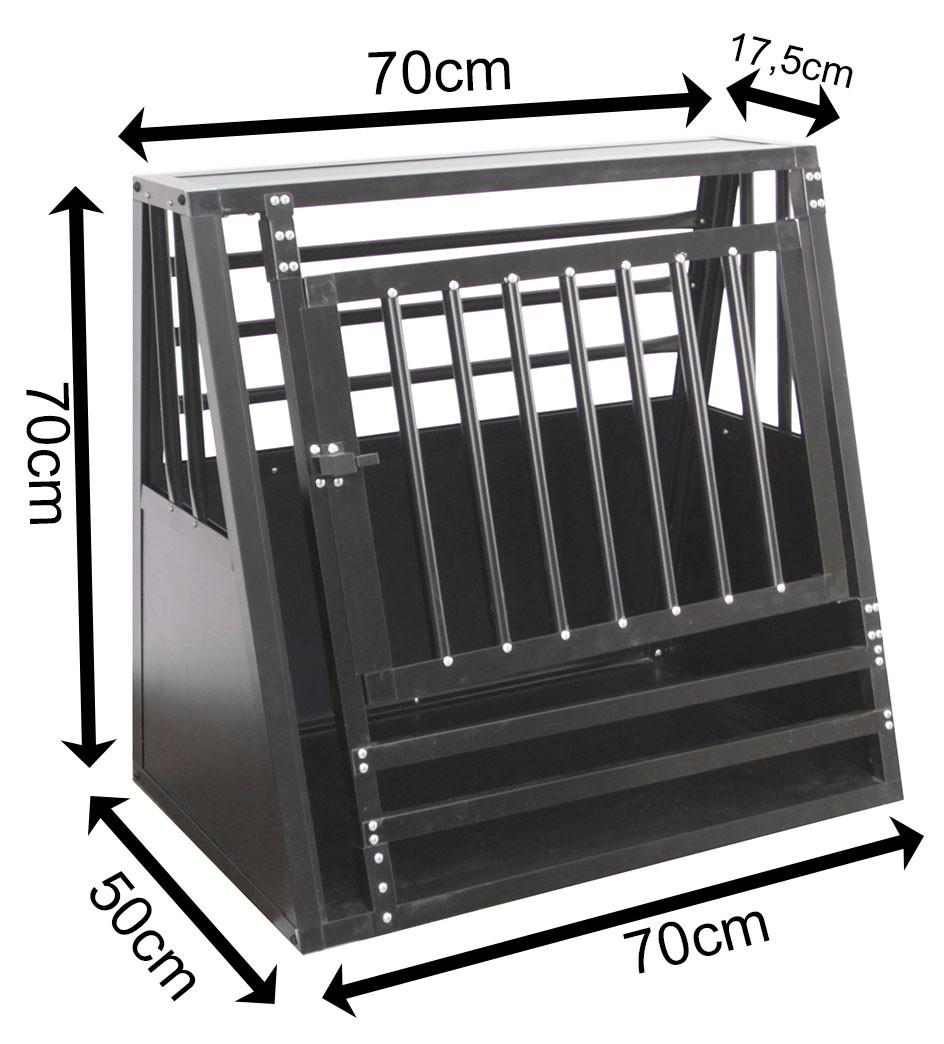 SafeCrate Medium Wide med Tröskel - 3:a Generation Hundbur