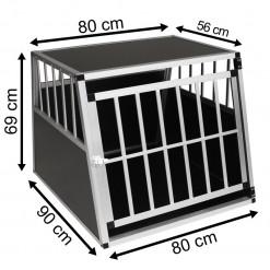 SafeCrate XXL PREMIUM - Extra stor hundbur till stor hund (2:a Generation)