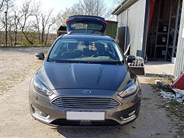 Ford Fokus Kombi Stationcar årgang 2011 - 2018 hundebur